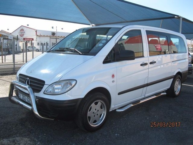 Used mercedes benz vito 115 cdi crewbus 7 seater for sale for Mercedes benz 2 seater