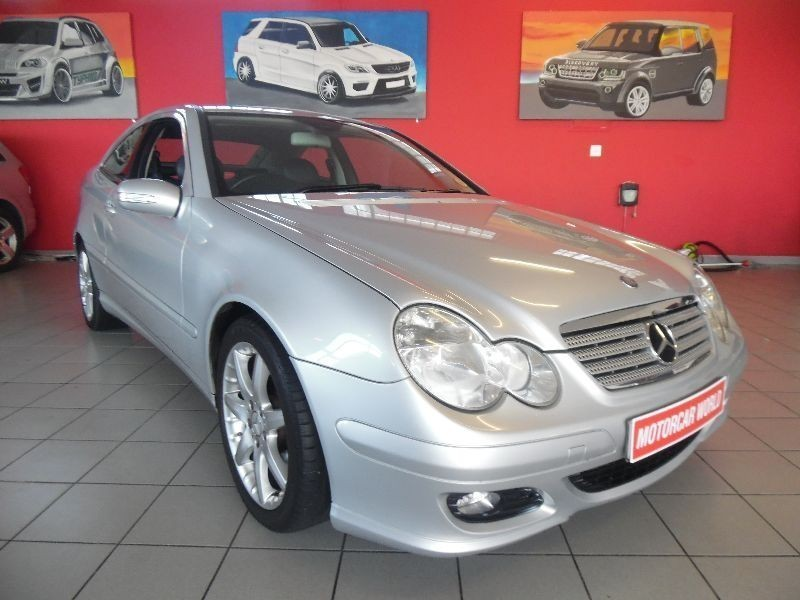 used mercedes benz c class 2005 mercedes benz c230 coupe for sale in western cape. Black Bedroom Furniture Sets. Home Design Ideas