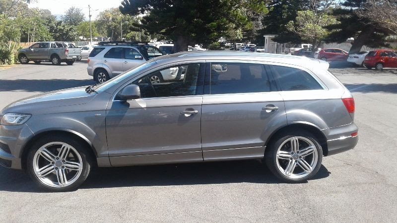 used audi q7 4 2 tdi v8 quattro tip for sale in western cape id 1940875. Black Bedroom Furniture Sets. Home Design Ideas