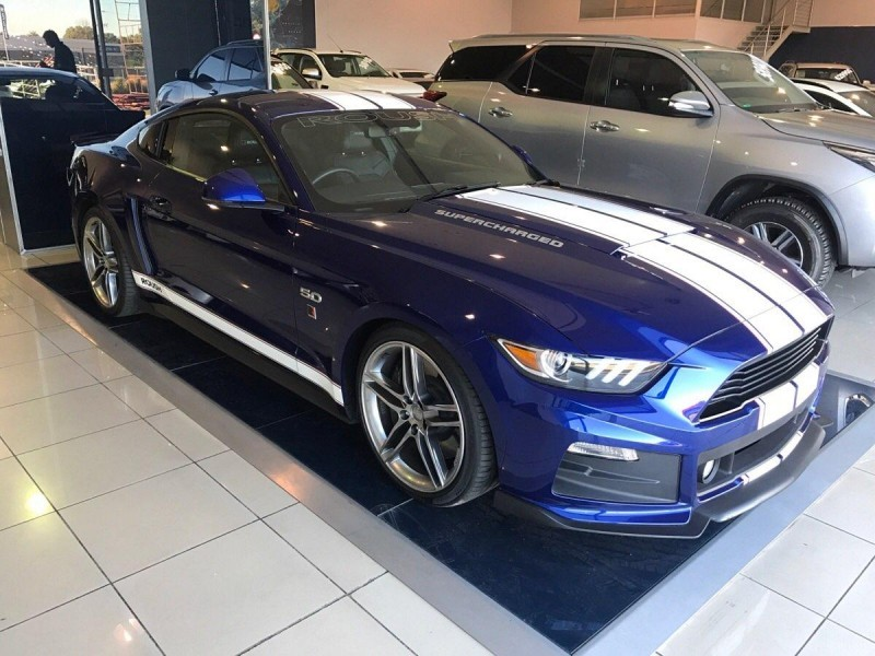 used ford mustang roush 5 0 gt auto l3 for sale in gauteng id 1941615. Black Bedroom Furniture Sets. Home Design Ideas