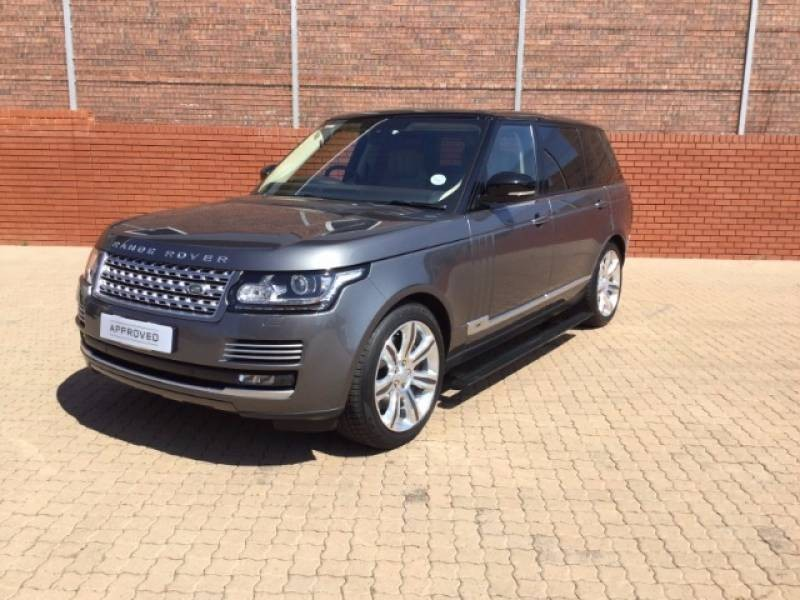 used land rover range rover 5 0 v8 s c lwb autobiography black for sale in gauteng. Black Bedroom Furniture Sets. Home Design Ideas