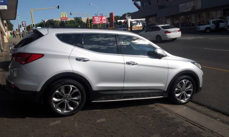 used hyundai santa fe r2 2 awd elite 7s auto for sale in gauteng id 1945454. Black Bedroom Furniture Sets. Home Design Ideas