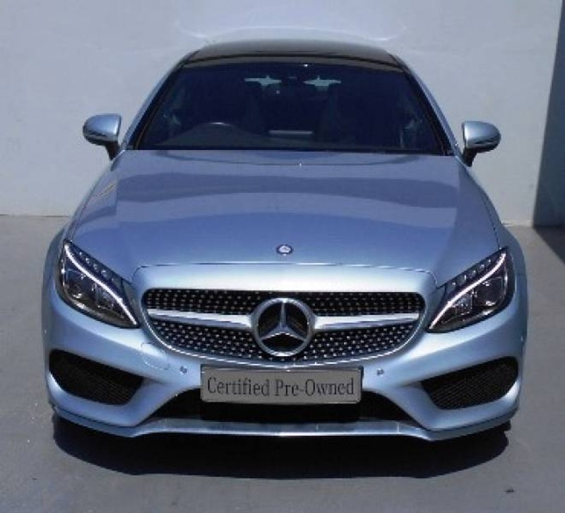 Mercedes Benz C200 Amg Line Coupe 2018 White: Used Mercedes-Benz C-Class C200 AMG Coupe Auto For Sale In