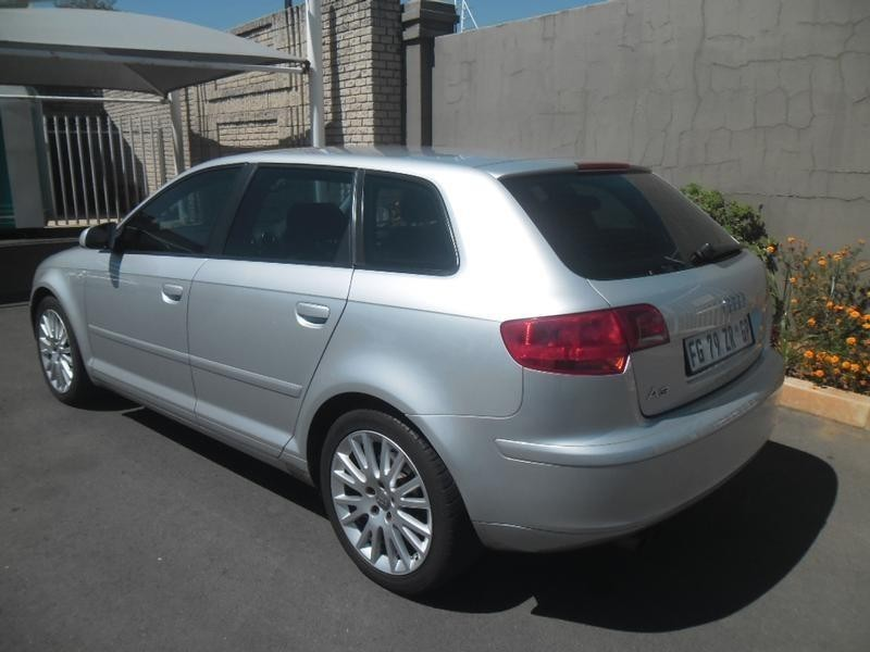 used audi a3 sportback fsi ambition for sale in gauteng id 1947696. Black Bedroom Furniture Sets. Home Design Ideas