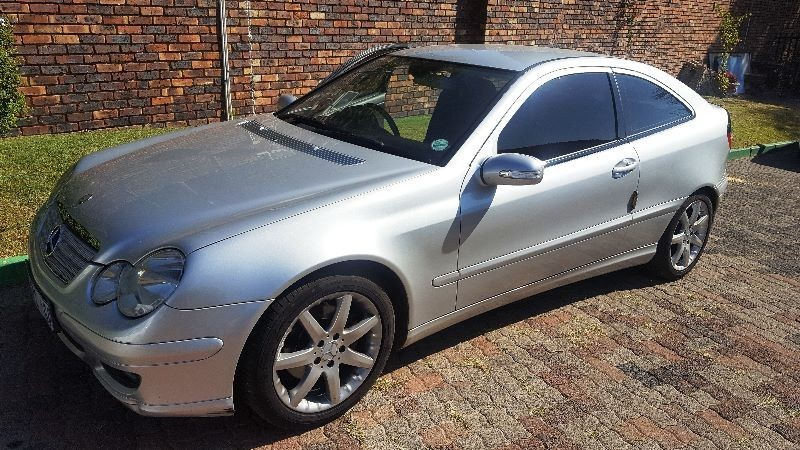 used mercedes benz c class c230 v6 coupe for sale in gauteng id 1952325. Black Bedroom Furniture Sets. Home Design Ideas
