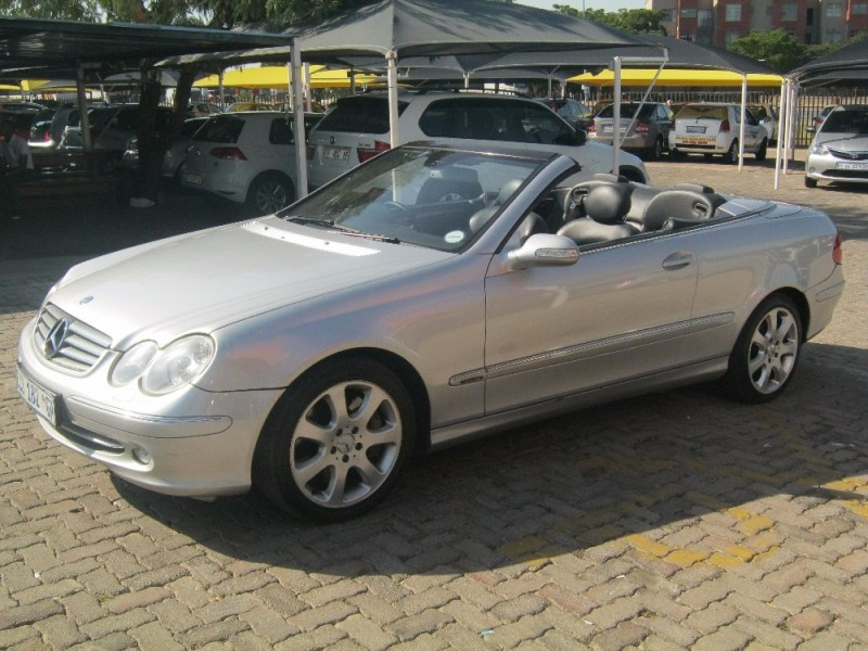 Used mercedes benz clk class clk 500 cabriolet for sale in for Used mercedes benz clk convertibles for sale