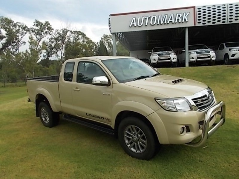 used toyota hilux 3 0d 4d legend 45 4x4 xtra cab p u for sale in free state id. Black Bedroom Furniture Sets. Home Design Ideas