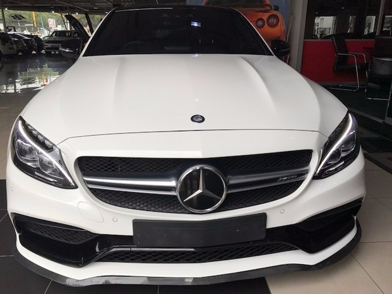 used mercedes benz c class c63 amg s for sale in gauteng id 1985207. Black Bedroom Furniture Sets. Home Design Ideas