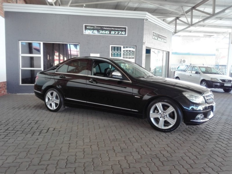 Used mercedes benz c class c 200k avantgarde a t for sale for 2008 mercedes benz c class for sale