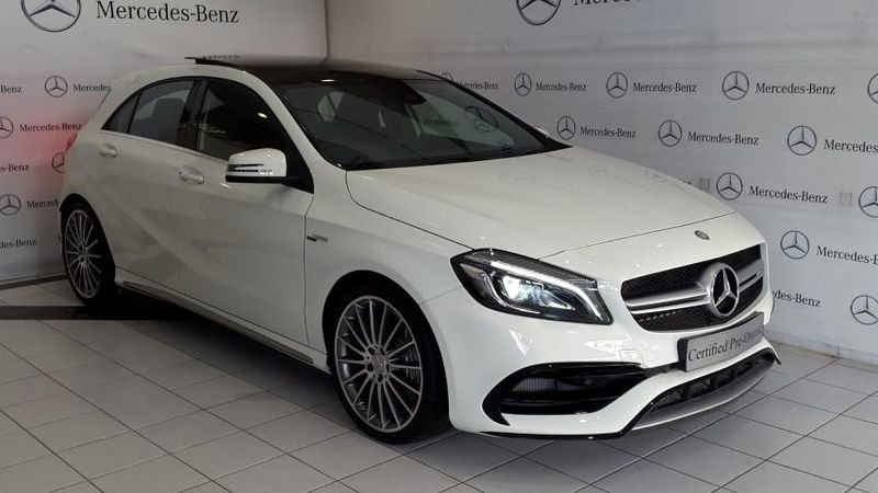 used mercedes benz a class amg a45 4matic for sale in western cape id 1987991. Black Bedroom Furniture Sets. Home Design Ideas