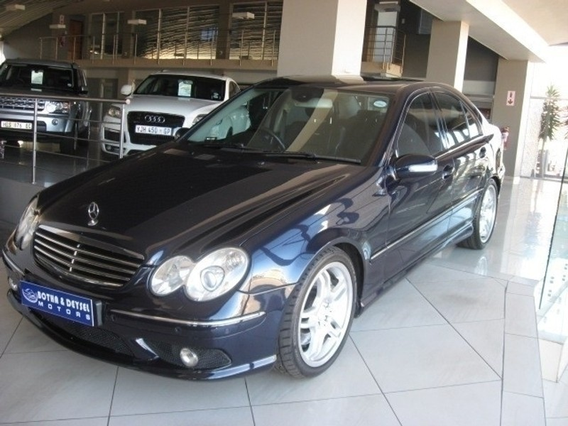 Used mercedes benz c class c55 amg for sale in gauteng for 2005 mercedes benz c55 amg for sale