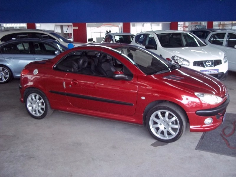 used peugeot 206 2 0 coupe cabriolet for sale in western cape id 2004725. Black Bedroom Furniture Sets. Home Design Ideas