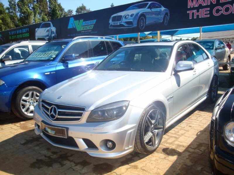 used mercedes benz c class c63 amg for sale in gauteng id 2014357. Black Bedroom Furniture Sets. Home Design Ideas