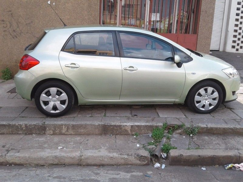 used toyota auris 1 6 xi for sale in gauteng id 2025681. Black Bedroom Furniture Sets. Home Design Ideas