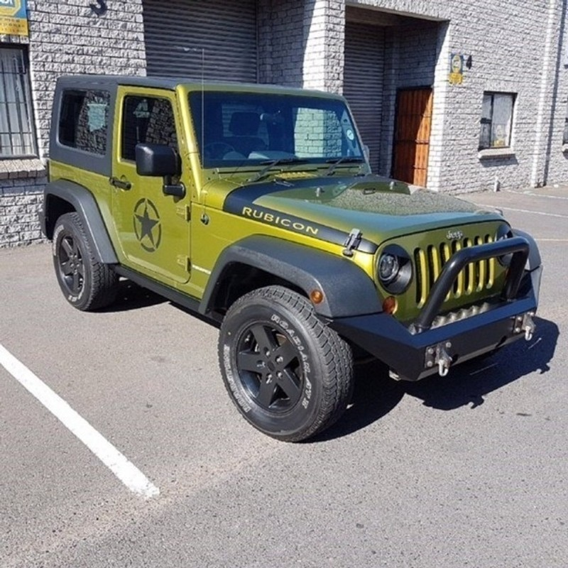 used jeep wrangler 3 8 rubicon 2dr for sale in western cape id 2027447. Black Bedroom Furniture Sets. Home Design Ideas