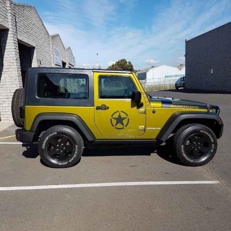 Used Jeep Wrangler 3.8 Rubicon 2dr For Sale In Western