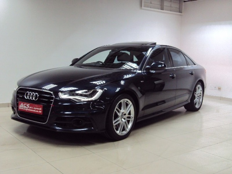 used audi a6 3 0t tfsi quattro s tronic navigation s line for sale in gauteng id. Black Bedroom Furniture Sets. Home Design Ideas