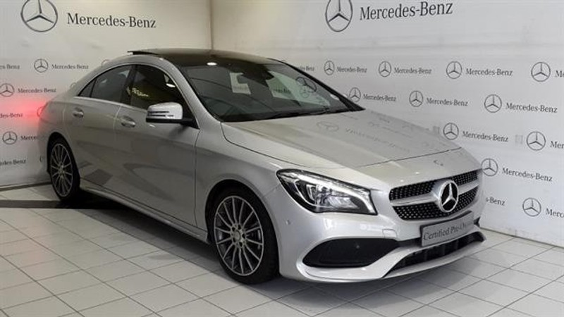 Used mercedes benz cla class 200d amg auto for sale in for Mercedes benz financial payoff address
