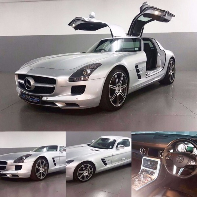 Used mercedes benz sls class sls amg for sale in gauteng for Used mercedes benz sls amg for sale