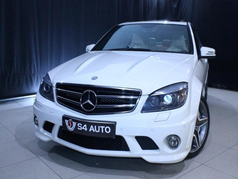 used mercedes benz c class c63 amg for sale in gauteng id 2048595. Black Bedroom Furniture Sets. Home Design Ideas