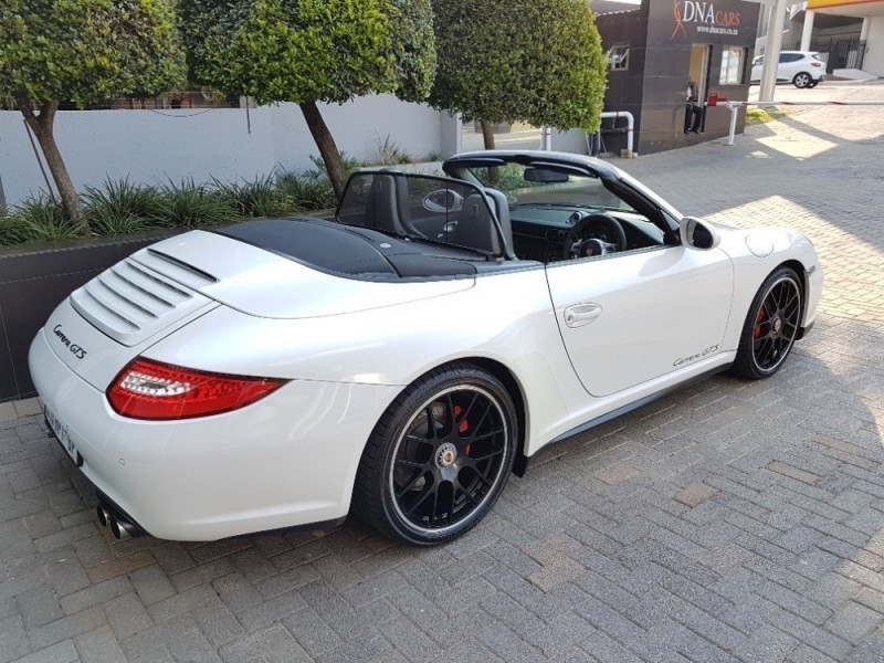 used porsche 911 997 carrera gts cabriolet for sale in gauteng id 2048843. Black Bedroom Furniture Sets. Home Design Ideas