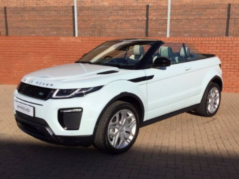 used land rover evoque 2 0 si4 convertible for sale in mpumalanga id 2049645. Black Bedroom Furniture Sets. Home Design Ideas