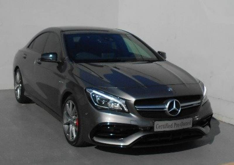 used mercedes benz cla class 45 amg for sale in kwazulu natal id 2053335. Black Bedroom Furniture Sets. Home Design Ideas