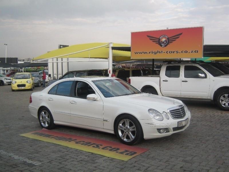 Used mercedes benz e class e 280 avantgarde for sale in for 2008 mercedes benz e class for sale