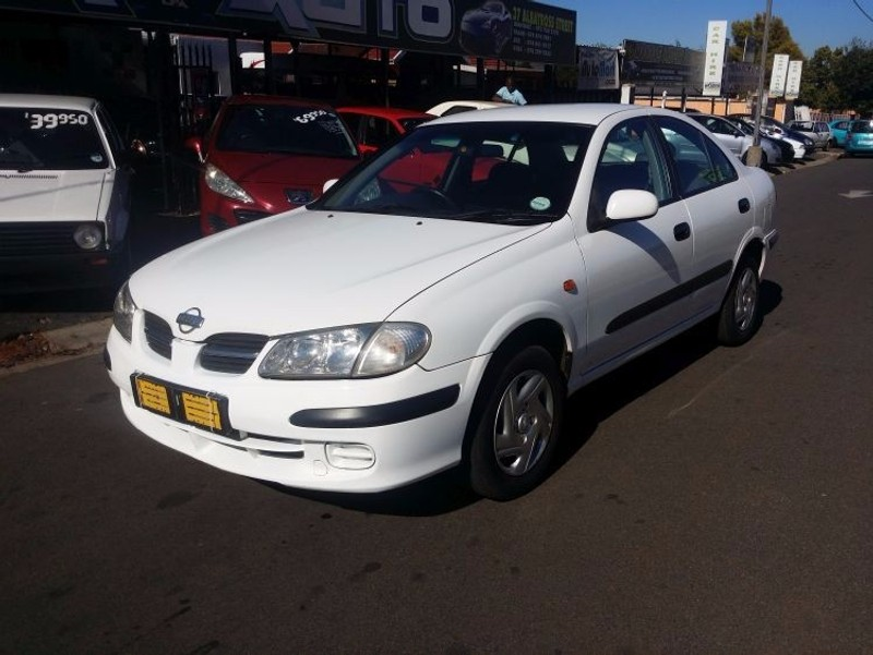 used nissan almera nissan almera 1 5 for sale in gauteng. Black Bedroom Furniture Sets. Home Design Ideas