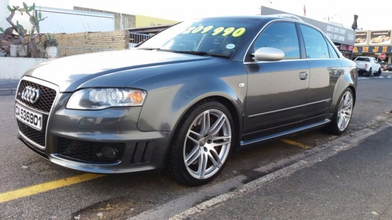used audi rs4 quattro for sale in western cape id 2068725. Black Bedroom Furniture Sets. Home Design Ideas