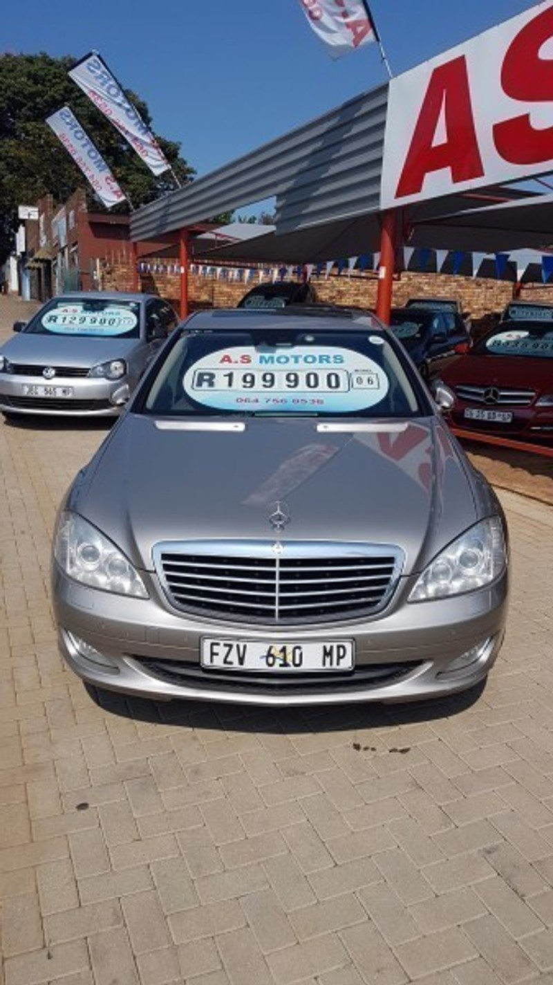 Used Mercedes Benz S Class S 500 For Sale In Mpumalanga