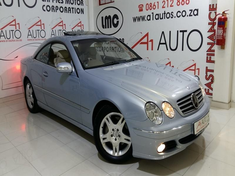 Used mercedes benz cl class cl 500 7sp for sale in gauteng for 2004 mercedes benz cl class