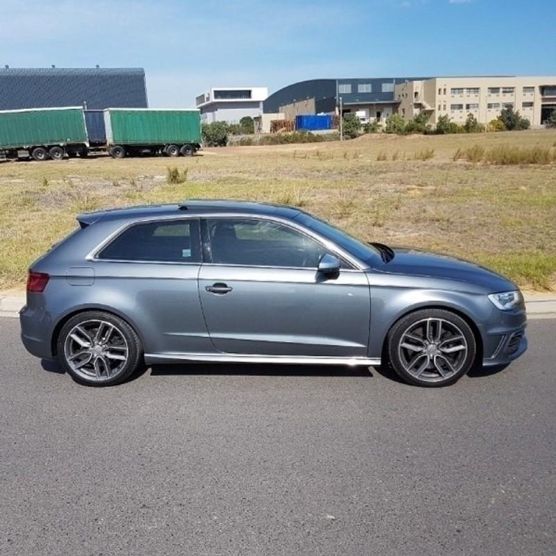 Used Audi S3 2014 Audi S3 S-Tronic 3-Door Grey With