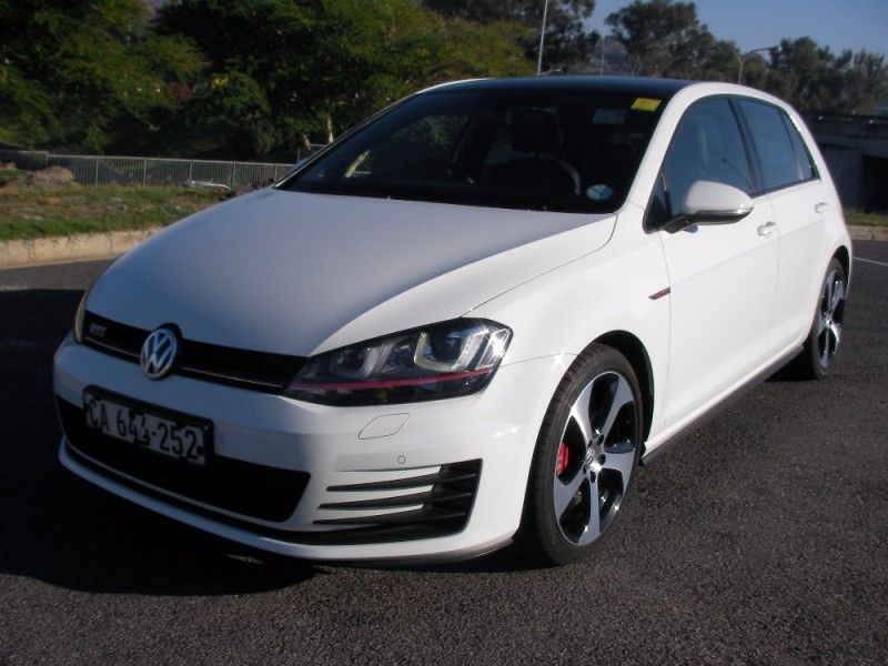 used volkswagen golf vii gti 2 0 tsi dsg performance for sale in western cape id. Black Bedroom Furniture Sets. Home Design Ideas