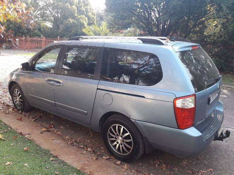 used kia sedona 2 9 crdi a t for sale in gauteng. Black Bedroom Furniture Sets. Home Design Ideas
