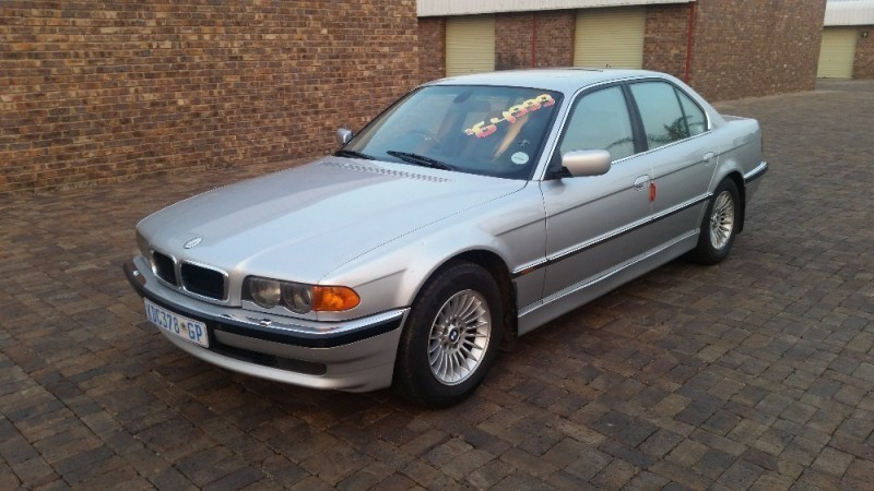 used bmw 7 series 740i a t m62 e38 for sale in gauteng id 2084306. Black Bedroom Furniture Sets. Home Design Ideas