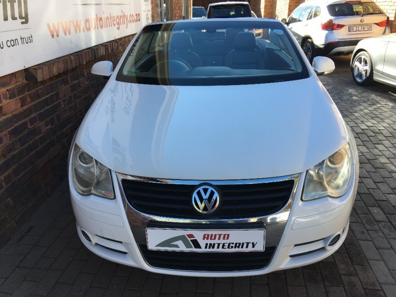 used volkswagen eos fsi sportline dsg for sale in gauteng id 2089250. Black Bedroom Furniture Sets. Home Design Ideas