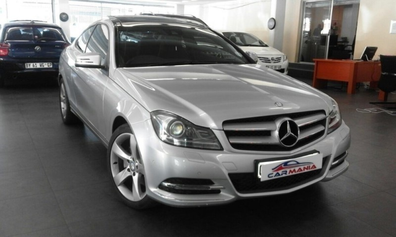 used mercedes benz c class c250 cdi be coupe a t for sale in gauteng id 2102988. Black Bedroom Furniture Sets. Home Design Ideas