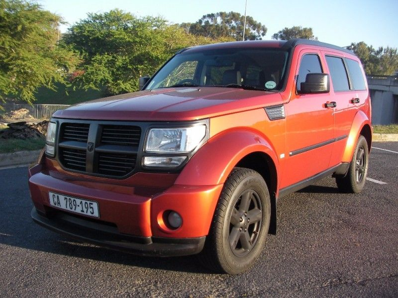used dodge nitro 2 8 crd sxt a t for sale in western cape id 2107200. Black Bedroom Furniture Sets. Home Design Ideas