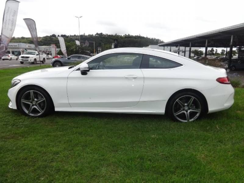 Used Mercedes Benz C Class C220d Coupe Auto For Sale In