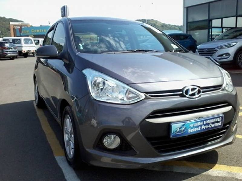 used hyundai i10 grand i10 fluid auto for sale in. Black Bedroom Furniture Sets. Home Design Ideas