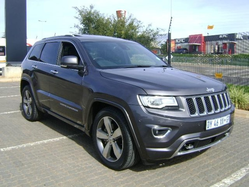 used jeep grand cherokee 3 6 overland for sale in gauteng id 2134706. Black Bedroom Furniture Sets. Home Design Ideas