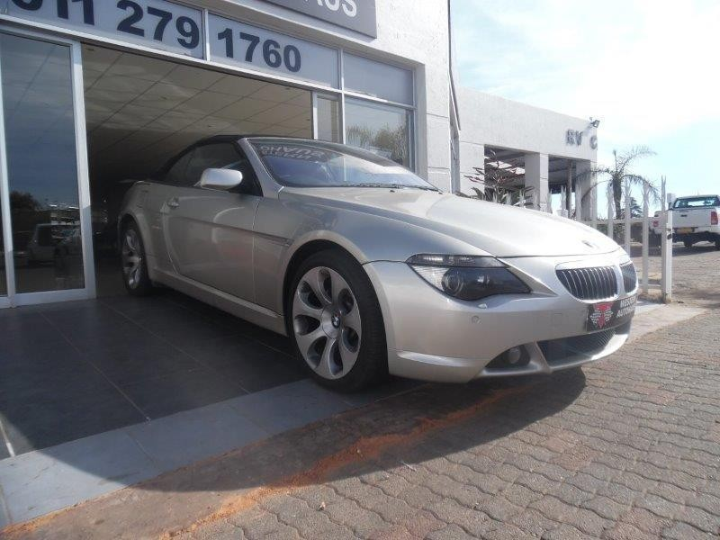 used bmw 6 series 650i convertible a t e64 for sale in gauteng id 2134782. Black Bedroom Furniture Sets. Home Design Ideas