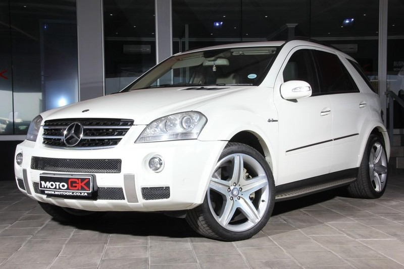 Used mercedes benz m class ml 63 amg for sale in north for Mercedes benz ml 2008 for sale