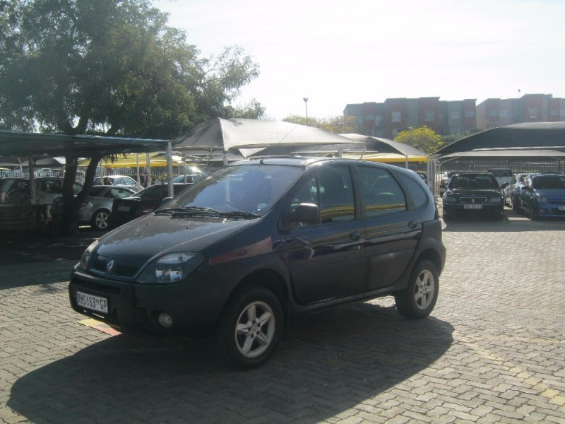 used renault scenic rx4 expression for sale in gauteng id 2142170. Black Bedroom Furniture Sets. Home Design Ideas