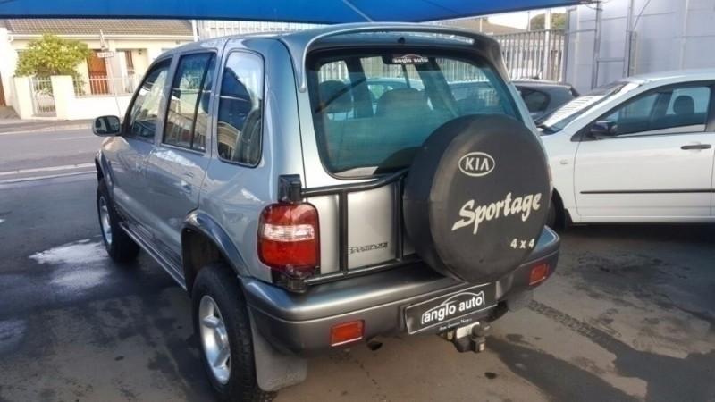 Used kia sportage 2 0 wagon for sale in western cape for 2001 kia sportage window motor