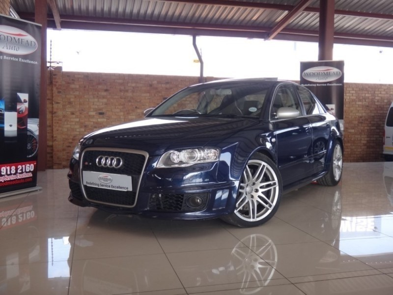 used audi rs4 quattro for sale in gauteng id 2151510. Black Bedroom Furniture Sets. Home Design Ideas