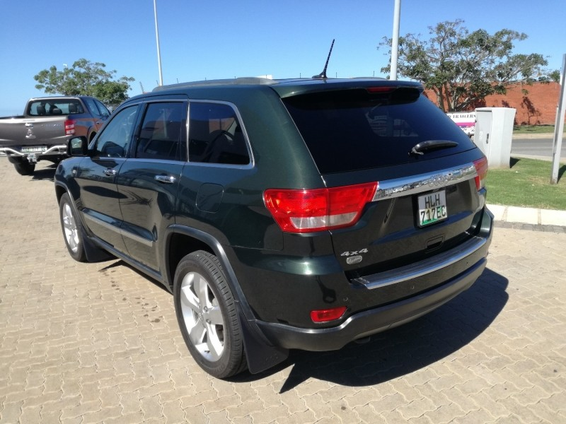 used jeep grand cherokee 3 6 overland for sale in eastern cape id 2155648. Black Bedroom Furniture Sets. Home Design Ideas