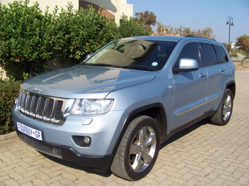 used jeep grand cherokee 5 7 v8 overland for sale in gauteng id 2188638. Black Bedroom Furniture Sets. Home Design Ideas