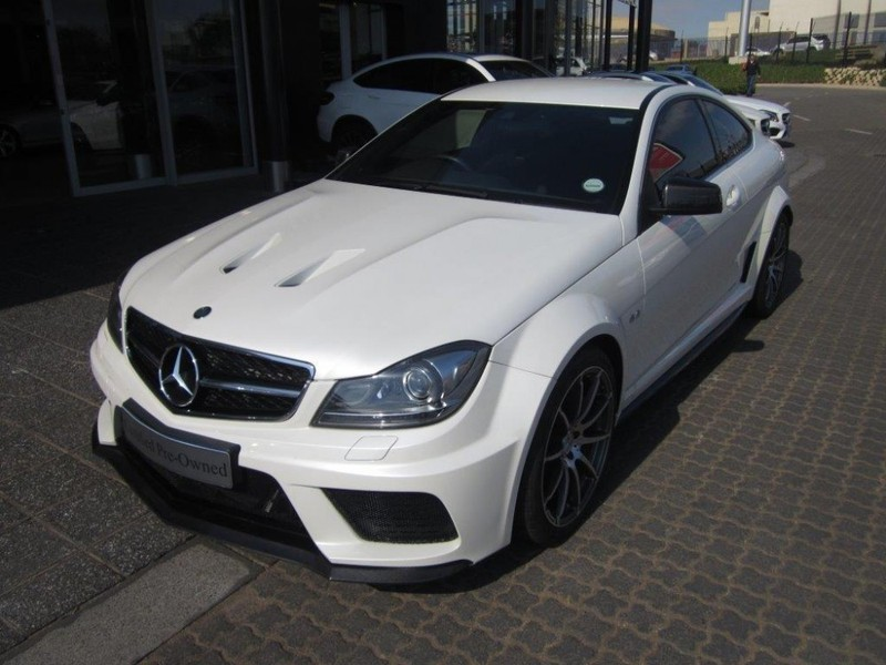 used mercedes benz c class c63 amg coupe black series for sale in gauteng id 2191788. Black Bedroom Furniture Sets. Home Design Ideas